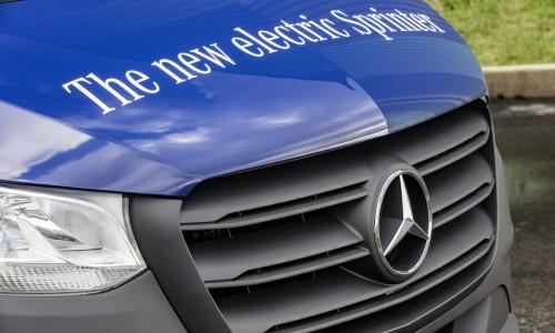 Nieuwe Mercedes Sprinter nu te bestellen, krijgt een elektrische variant