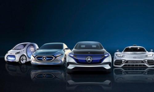 Daimler koopt 20 miljard euro aan batterijcellen voor elektrische auto's