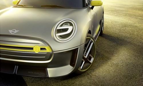 BMW's elektrische Mini komt in 2019. Bekijk de Mini Electric Concept