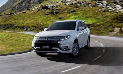 Gefacelifte Mitsubishi Outlander PHEV 2019 staat klaar voor nieuw leasesucces
