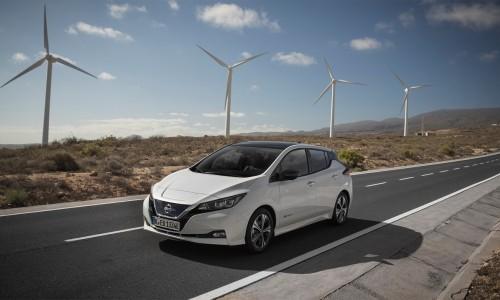 Nissan Leaf is de bestverkochte elektrische leaseauto in Europa!