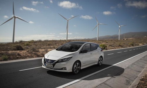 Nissan Leaf is de bestverkochte elektrische leaseauto in Europa!