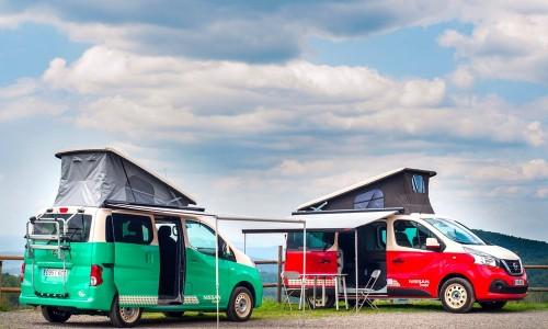 Elektrische camper van Nissan, duurzaam op vakantie met de e-NV200 Camper
