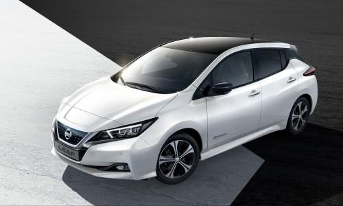 Nieuwe Nissan Leaf actieradius 378 km, januari 2018 leasen bij ActivLease