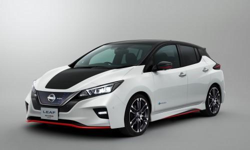 Nieuwe Nissan Leaf krijgt een sportief jasje: de Leaf Nismo Concept