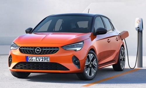 Oranje boven: eerste beelden van elektrische Opel Corsa