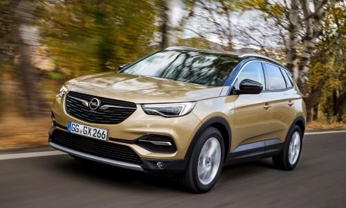 Nieuwe motor en luxe uitvoering voor Opel Grandland X lease