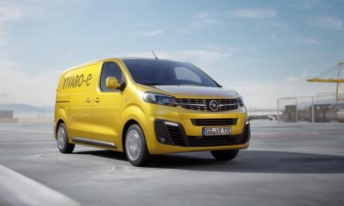 Opel gaat voor goud met 100% elektrische Vivaro-e