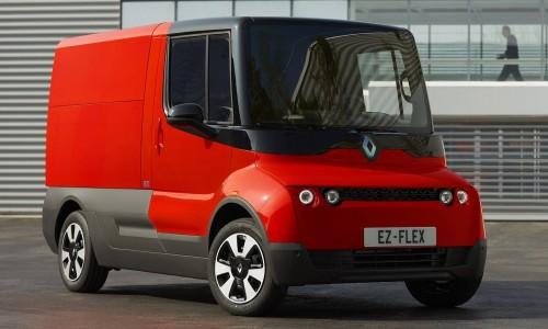 Renault EZ-FLEX is een emissievrij bestelbusje voor in de binnenstad