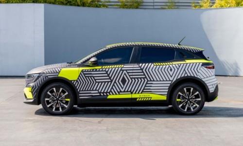 Dit zijn de eerste details van de elektrische Renault Mégane!