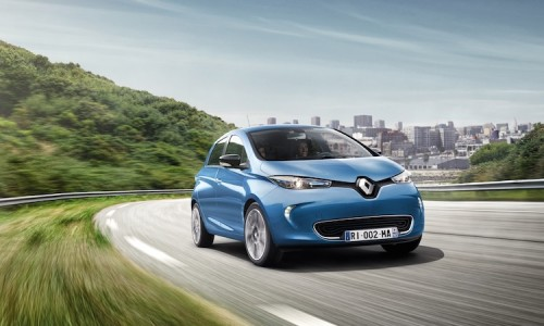 Wow! De Renault Zoe actieradius is wel 400 km zonder laden!