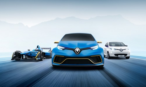 Renault Zoe R.S. wordt onderzocht door Renault Sport
