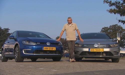 RTL Autowereld over de Volkswagen Golf GTE en Passat GTE Connected Series