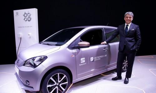 Toekomstige elektrische leaseauto's gebruiken technologie uit Seat eMii prototype