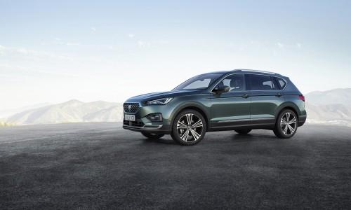 De gloednieuwe Seat Tarraco SUV zoekt het hogerop