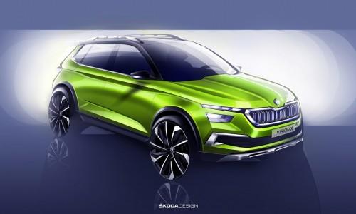 Skoda toont preview van nieuwe compacte SUV voor 2019