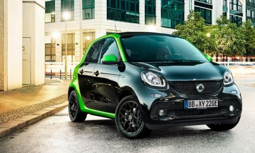 Ontdek de vierde generatie smart - nu ook elektrisch te leasen