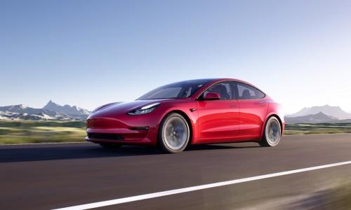 Tesla Model 3 laat voortaan hogere actieradius zien na update