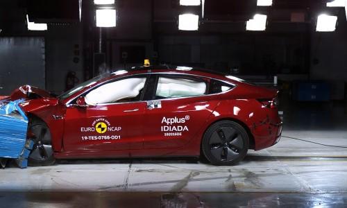 Tesla Model 3 breekt veiligheidsrecord met Euro NCAP crashtest