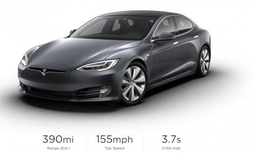 Extra rijbereik en nieuwe velgen voor Tesla Model S en X