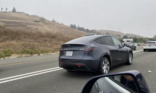 Nieuwe Tesla Model Y beelden opgedoken