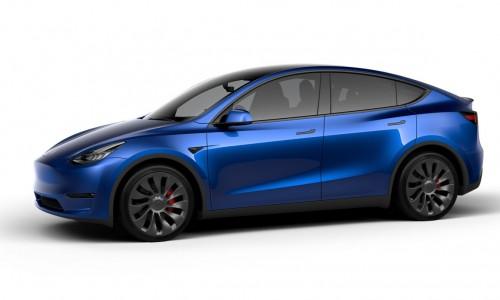 Dít zijn de nieuwe velgen van de Tesla Model Y