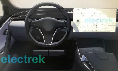Wordt dit het nieuwe interieur van de Tesla Model S en X?