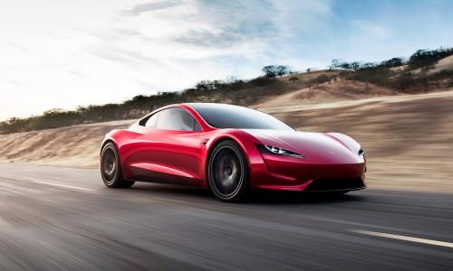 Bizar! Nieuwe Tesla Roadster met top van 400 km/u en 1000 km actieradius