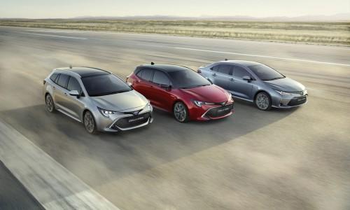 Nieuwe Toyota Corolla Hybrid ook als sedan, vanaf voorjaar 2019 te leasen