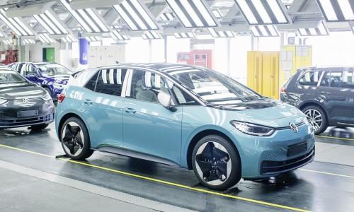 De Volkswagen ID.3 krijgt software updates op afstand net als Tesla Model 3