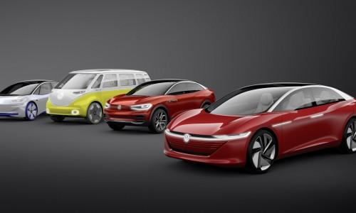 De elektrische auto's van Volkswagen die u binnenkort kunt leasen