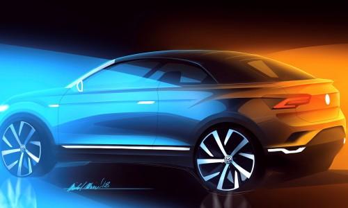 De Volkswagen T-Roc kan u vanaf 2020 leasen als cabriolet-SUV bij ActivLease
