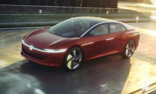 Volkswagen Vizzion, nieuwe elektrische sedan, kan u in 2022 leasen bij ActivLease