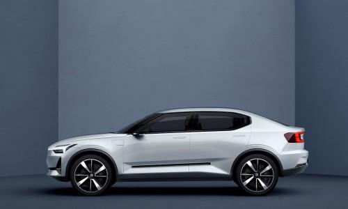 Eerste elektrische Volvo auto wordt een hatchback met grote actieradius