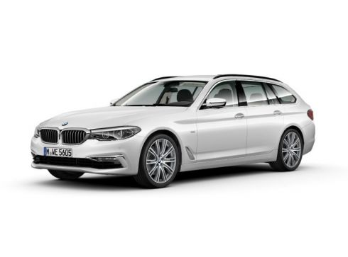 BMW 5-touring 520d Steptronic Edition, Mineralweiss