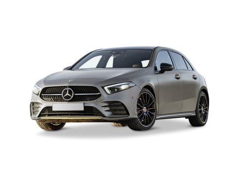 Mercedes-Benz A-klasse 180 DCT AMG Line Mountaingrijs + Premium pakket