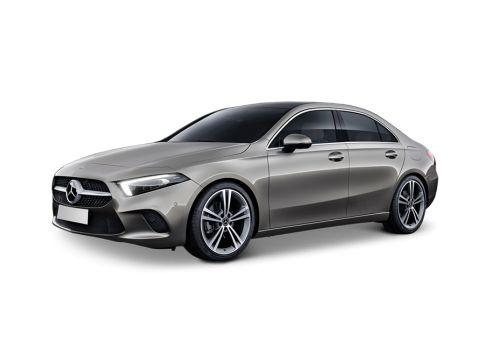 Mercedes-Benz A-klasse Limousine 180 7G-DCT Business Solution AMG Denimblauw