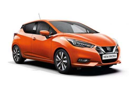 Nissan Micra IG-T 90 N-Connecta, Energy Orange + Cold Pack