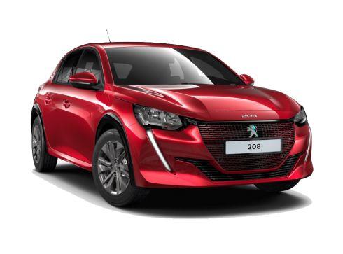 Peugeot e-208 50 kWh Allure - Rouge Elixir