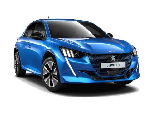 Peugeot e-208 50 kWh GT, Bleu Vertigo - SNEL LEVERBAAR!