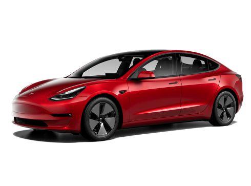 Tesla Model 3 70kWh Long Range Dual Motor AWD + ZWART EN WIT INTERIEUR