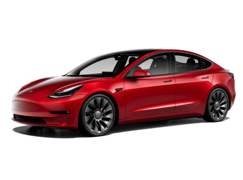 Tesla Model 3 76kWh Performance Dual Motor AWD - Multi-Coat Red