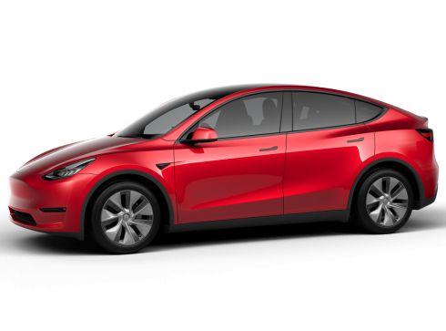 Tesla Model Y 75kWh Long Range Dual Motor AWD - Multi-Coat Red