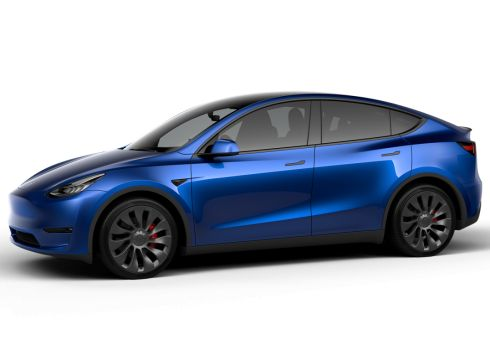 Tesla Model Y 75kWh Performance - Deep Blue
