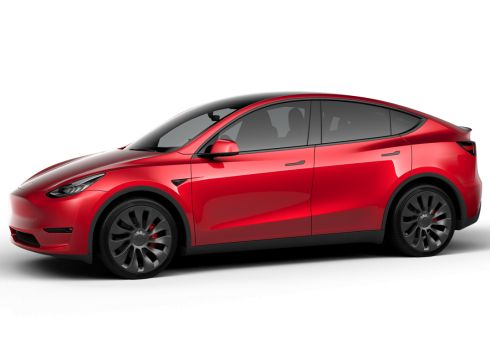 Tesla Model Y 75kWh Performance - Multi-Coat Red